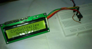 16×2 Serial LCD  (Two Wire) with PIC12F675