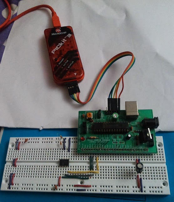 PIC32 SPI: Using the MCP4822 12-bit serial dual DAC
