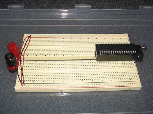 Make a Solderless Breadboard Carrier