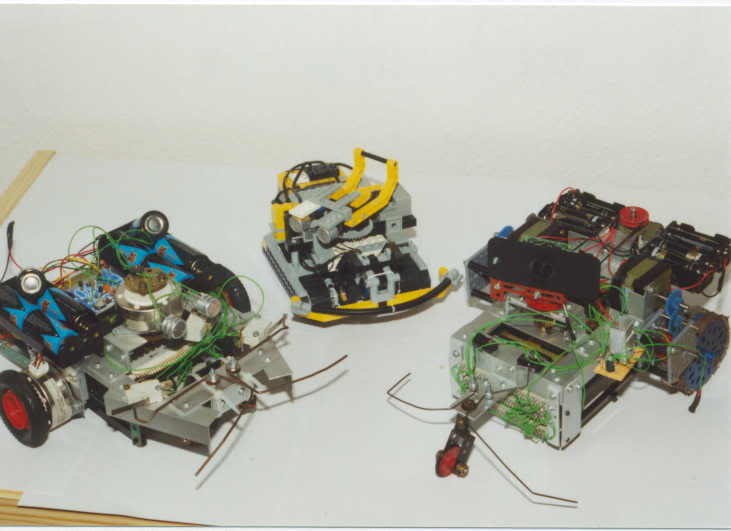 YRO-I, II and a Digital Advanced Videocontrolled Explorer Robots