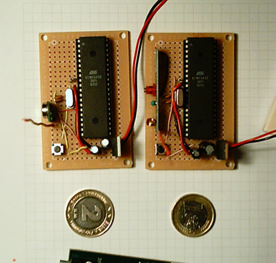 Build your own wireless receiver and transmitter device