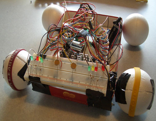 LightRover – light sensing robot