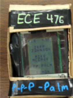 A Microcontroller Based Handheld Device