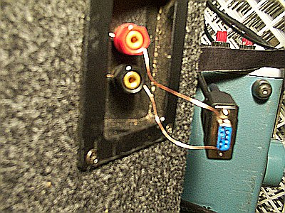Audio output on RS-232