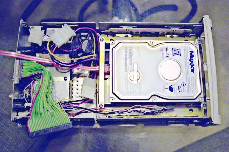 Convert a SCSI enclosure into a SATA enclosure