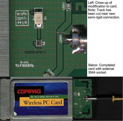 Compaq WL100 external antenna