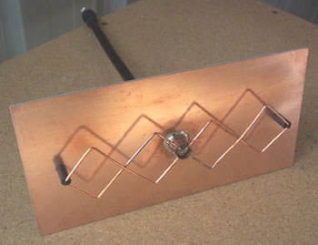 Double Biquad Antenna