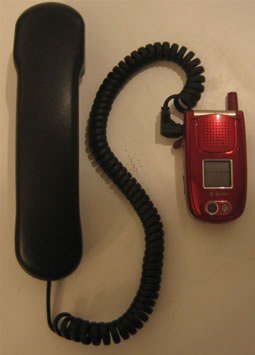 DIY Retro Cellphone Handset