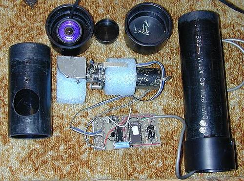 Motorized Video Camera Mount