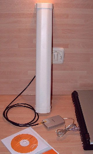 Homebrew Sector Antenna for Wi-Fi ISM band