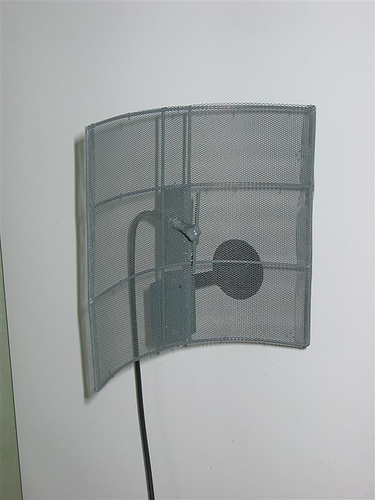 Homebrew parabolic antenna