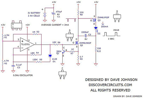 LED Light Emitting Diodes Circuits