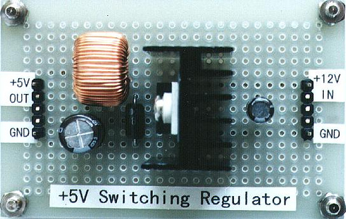 +5V Switching regulator