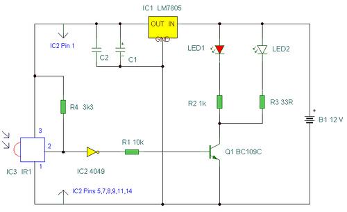 IR Remote Control Extender Mark 2