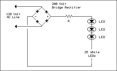 Line Powered White LEDs