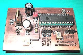 Digitally controlled FM transmitter