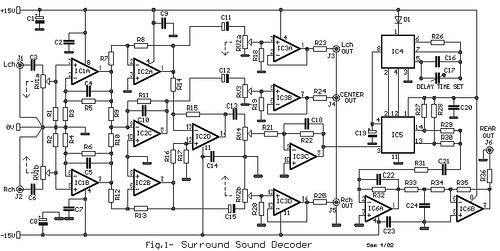 Small Surround Sound Decoder