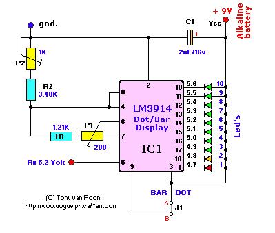 RX-Voltmeter