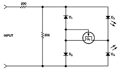 Simple circuit detects current pulses