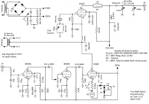 5 Watt AM Transmitter Project
