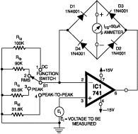High Resistance Voltmeter