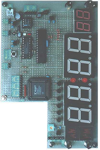 PIC16F873 Digital clock