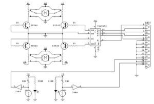 Computer controller for DC motors