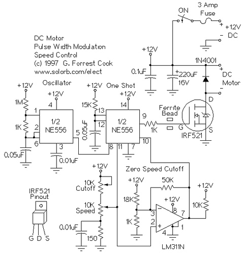PWM DC Motor Speed Control