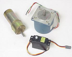 The difference between Stepper motors, Servos, RC Servos