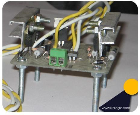 Build a 5A H-bridge motor driver