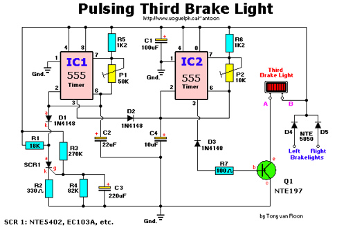 Third Brake Light Pulser