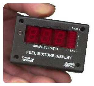 Wide Band Fuel Mixture Display