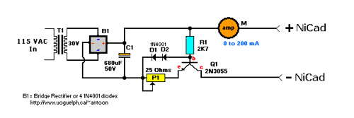 Constant Current Nicad Charger