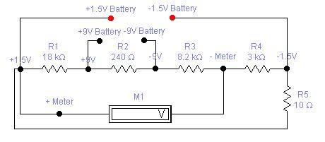 Battery Tester for 1.5 & 9V