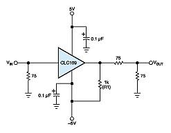 Single Resistor betters inexpensive Buffer