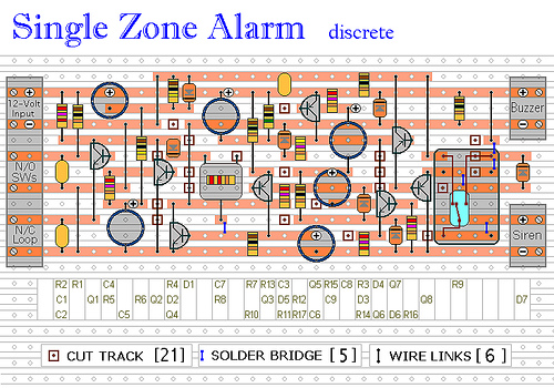 Single Zone Alarm