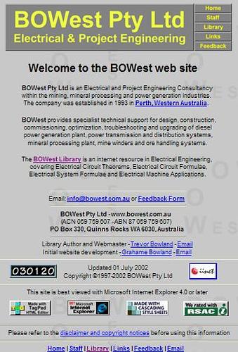 BOWest Pty Ltd