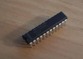 PIC18F2550 MAX114 4-Channel ADC