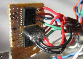 PIC18LF2550 Wireless 3-axis Accelerometer