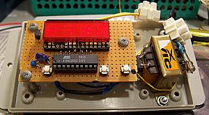 Mains clock controller