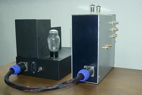 5687 LED Biased Tube Preamplifier