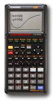 Casio LCD graphing data logger
