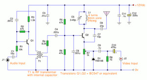 Television Transmitter Operating at VHF Band