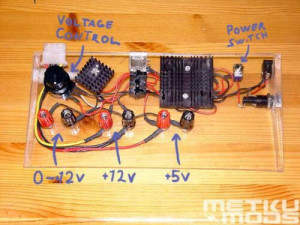 Making of a modding power supply