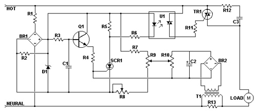 AC Motor Speed Controller