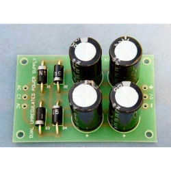 Dual Unregulated Power Supply for Audio Power Amplifiers
