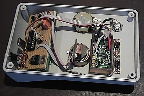 Building a microprocessor controlled frequency synthesizer