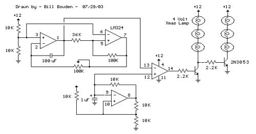 Automatic 12 Volt Lamp Fader