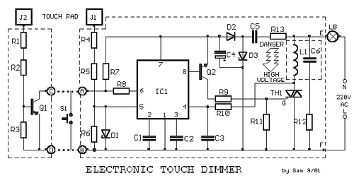 Electronic Touch Dimmer