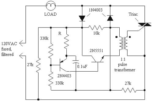 Basic Lamp Dimmer
